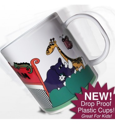 Personalised Zoo Cup
