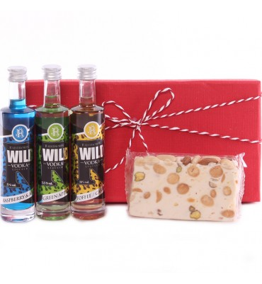 Vodka and Nougat Gift Set