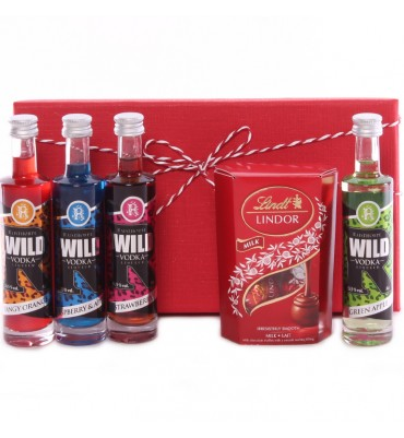 Vodka and Chocolate Gift Set
