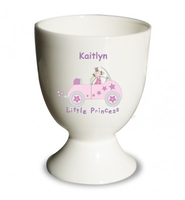 Egg Cup For a Little Girl in a Princess Design