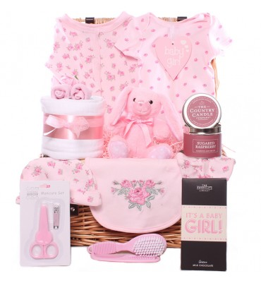 Blossom Time Baby Girl Hamper