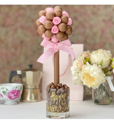 Lindor with Edible Pink Roses