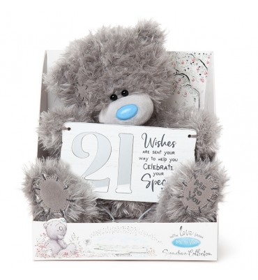 21st Birthday Me to You Bear