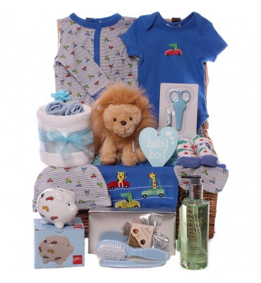 Jungle Racers Baby Boy Hamper