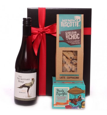Wine and Biscotti Gift Set