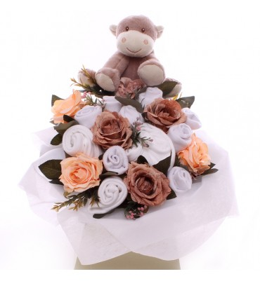 Welcome Monkey Baby Bouquet