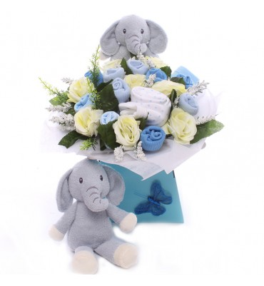 Elly Elephant Baby Bouquet