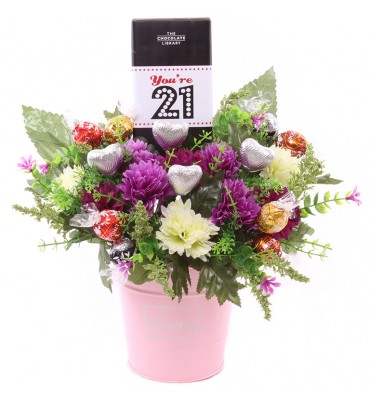 You're 21 Chocolate Flower...