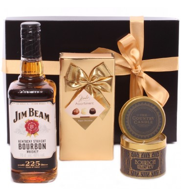 Bourbon Whiskey Candle and...
