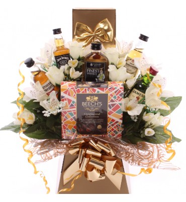 Whiskey Chocolate Bouquet -...