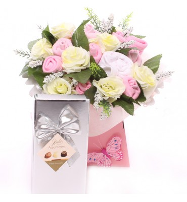 Baby Bouquet and Chocolates