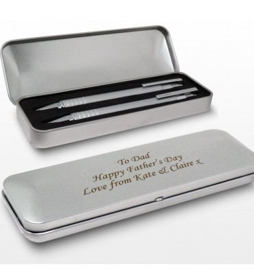 Personalised Two Pen Box Set