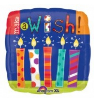 Make a Wish Birthday Balloon