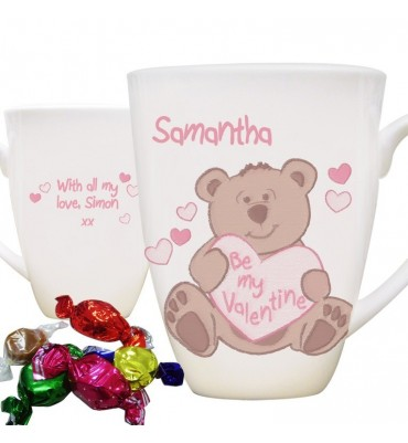 Be My Valentine Bear Mug