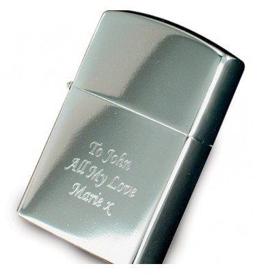 Personlised Sliver Lighter
