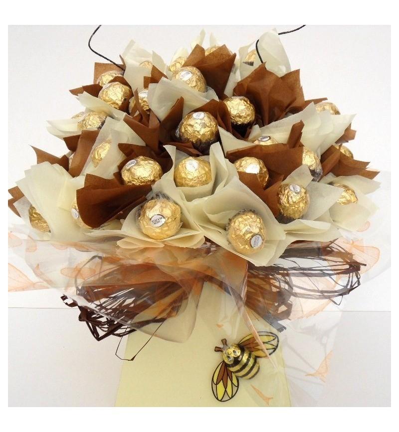 Luxury Ferrero Rocher Bouquet Arrangement Chocolate Bouquet