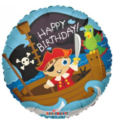 Happy Birthday Pirate Balloon