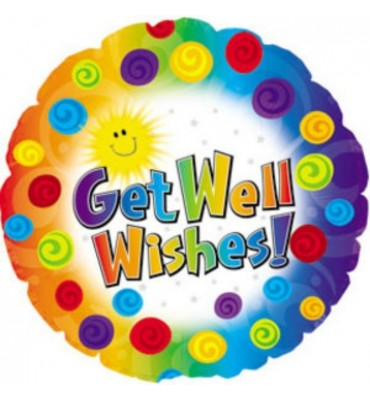 Get Well Wishes Balloon in a Box.