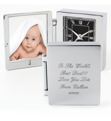 Photo Frame Travel Clock