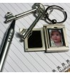 Silver Pen and Photo Keyring