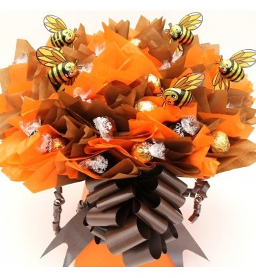 Lindor Chocolate Bouquet with Bees