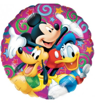 Mickey Mouse and Friends Helium Balloon.