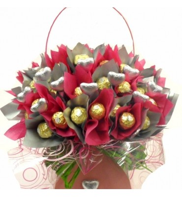 Chocolate Flower Bouquet.