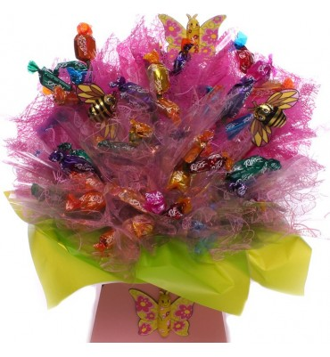 Large Roses Chocolates Bouquet.
