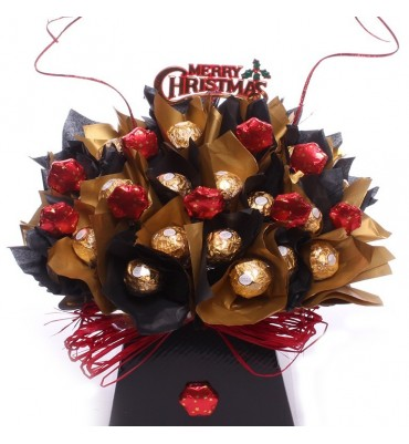 Christmas Star Ferrero Rocher Bouquet.