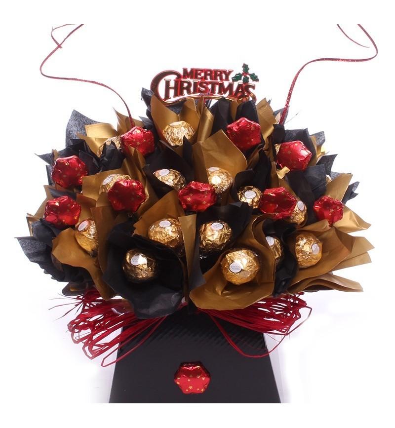 Christmas Star Ferrero Rocher Bouquet.