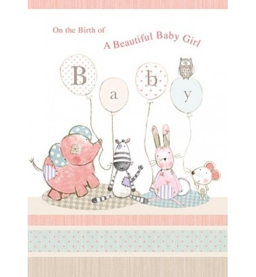 Birth Congratulations Card for a Boy.