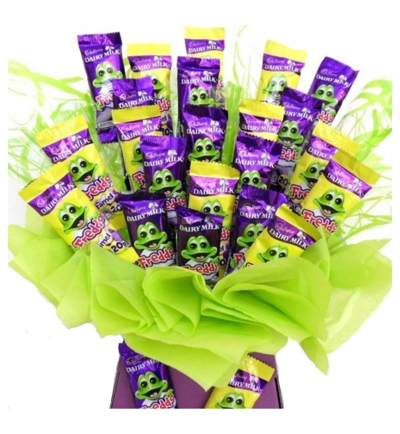 Freddo Frog Chocolate Bouquet for Big Kids