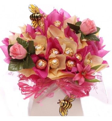 Chocolate Bouquet Candy Bouquets Chocolate Bar Bouquets Ferrero
