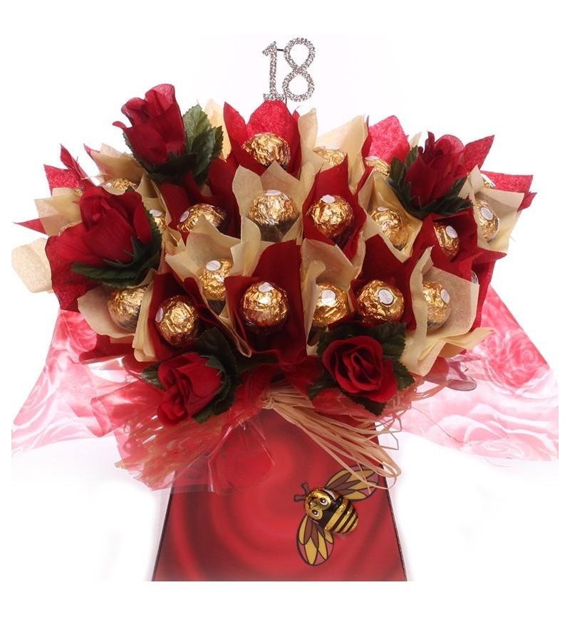18th Birthday Chocolate Bouquet