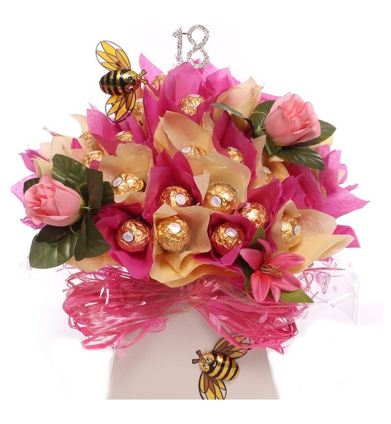 18th Birthday Ferrero Bouquet.