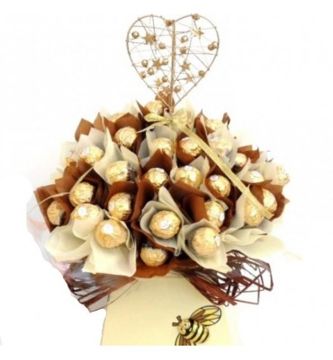 Wedding Ferrero Rocher Bouquet