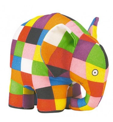 18 inch Elmer The Patchwork Elephant.