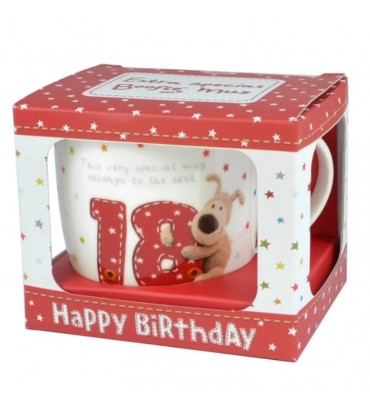 Boofle Boxed 18th Birthday Mug.