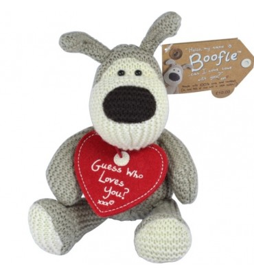 Boofle Plush Guess Who Loves You.