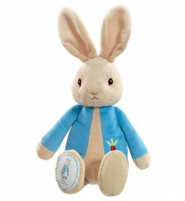 19cm Soft plush Peter Rabbit Bean Toy.