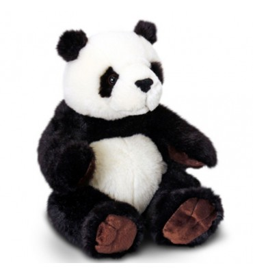 Soft Plush 20cm Sitting Panda by Keel Toys.