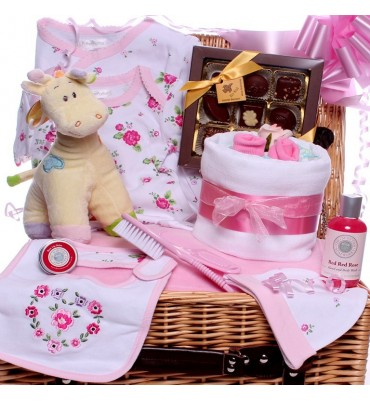 Little Flower Baby Girl Hamper.