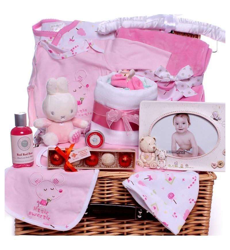 Luxury Miffy Baby Girl Hamper Gift.