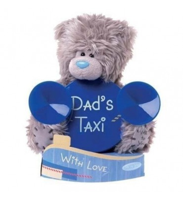 Dad's Taxi Car Window Me to You Bear.