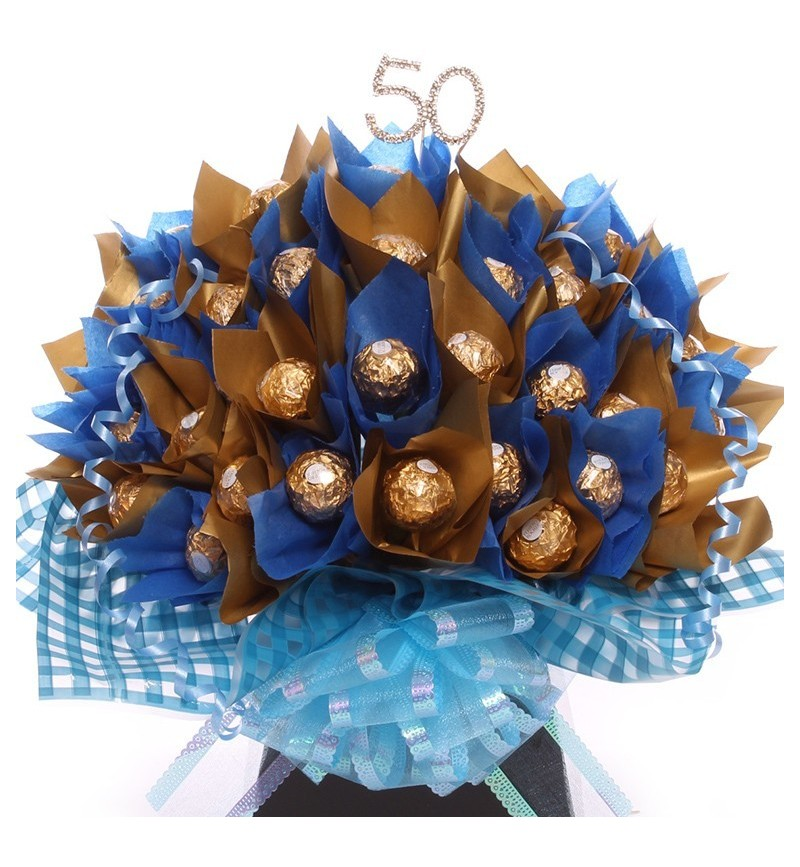 50th Birthday Chocolate Bouquet