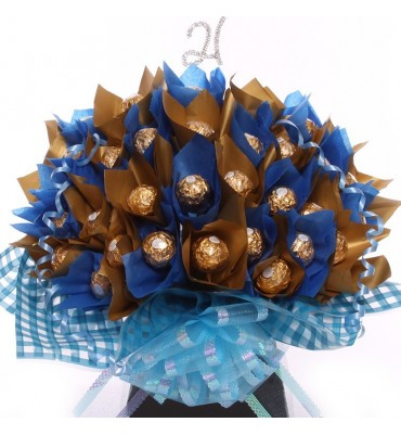 21st Ferrero Rocher Bouquet For Him.