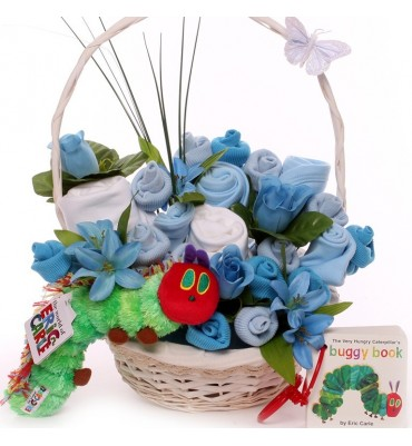 The Very Hungry Caterpillar Baby Bouquet Basket.