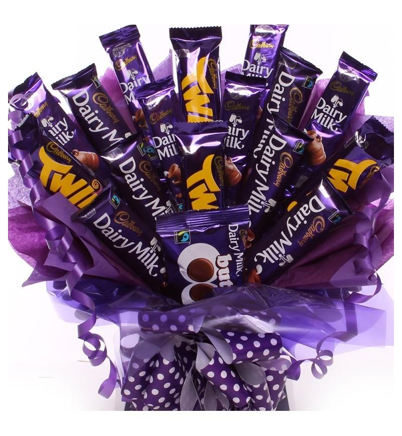 Cadbury Chocolate Bouquet.