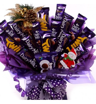Cadbury Christmas Chocolate Bouquet.  sc 1 st  The Unique Gift Store & Christmas chocolate gifts and Christmas Chocolate gift ideas.