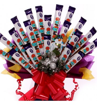 Christmas Curlywurly Bouquet.
